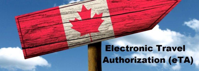 O e-TA é uma autorização eletrônica de viagem ao Canadá.