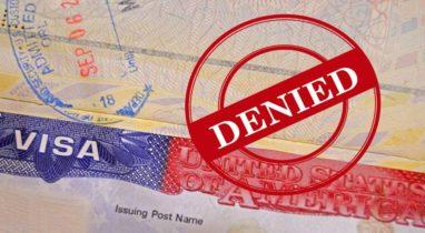 Porque os vistos são negados?