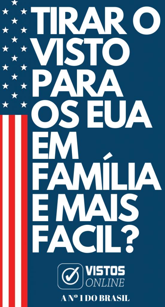Tirar o visto para os Estados unidos em família é mais fácil!