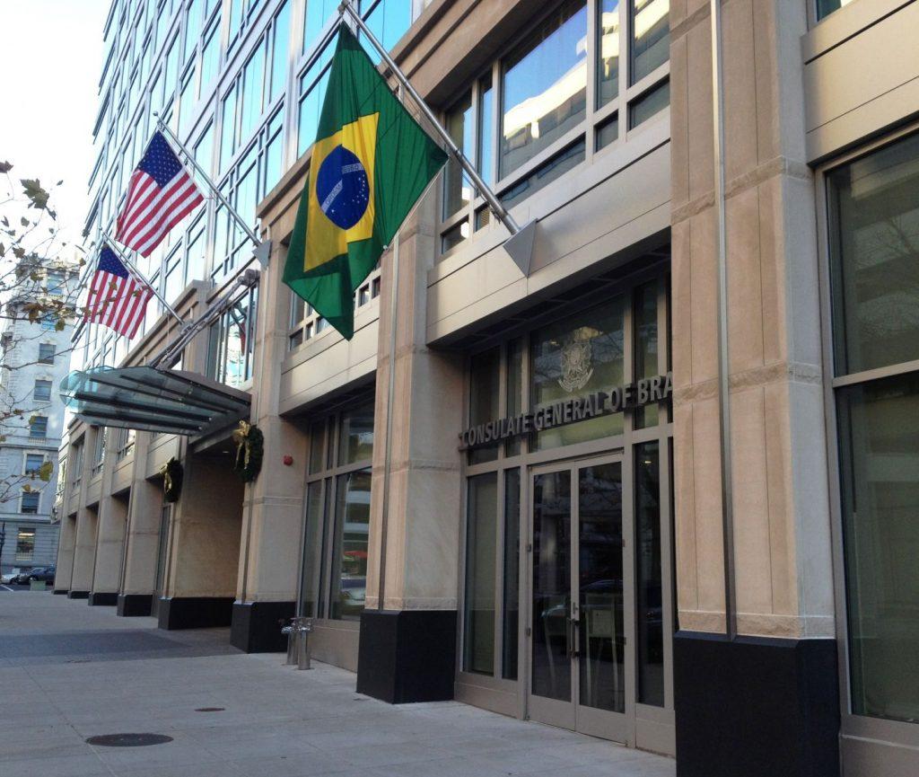 consulado dos Estados unidos